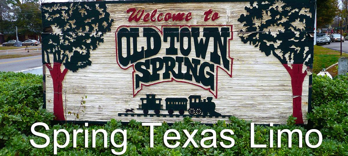 Spring Texas Limo