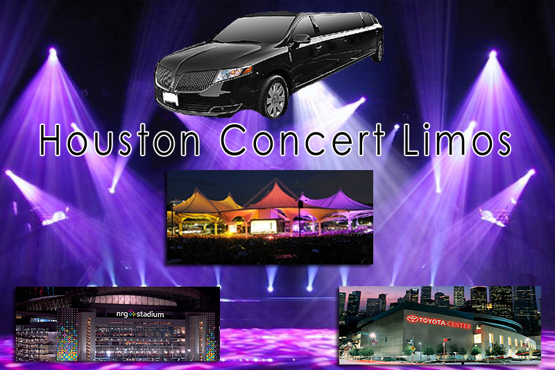 Concert Limo Houston, The Woodlands